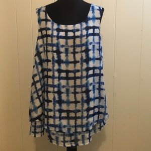 New Directions Sleeveless Blouse